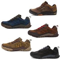 Merrell Annex Track Low Trainers in Cloudy & Clay Brown & Sodalite Blue