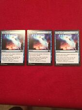 MTG X3 Into the Void M15 Magic the Gathering Blue Uncommon Sorcery Cards