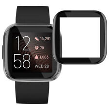 5 Pcs 3D Full Coverage Screen Protector Protective Cover For Fitbit Versa 2 Lite