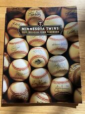 2012 MINNESOTA TWINS YEARBOOK MLB