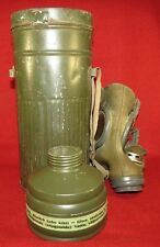 Estonian army 1940 year made gasmask with canister.