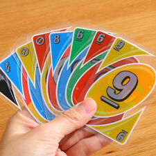 New UNO H2O Waterproof Clear Game Playing Card Family Fun Toy Games Gift 2018 A+