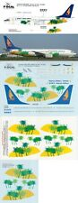 F-DCAL DECALS 1/144 Boeing 737-800 Palm Trees scheme (Hainan Airlines)