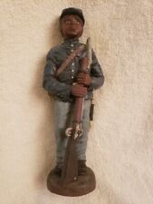 Vintage Sarah's Attic Black Confederate Soldier Limited Edition African American