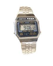 Vintage ConVoy Melody Lcd Alarm Chronograph  Digital Wrist Watch (1484M)
