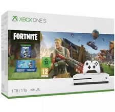 MICROSOFT Xbox One S with Fortnite  1 TB console