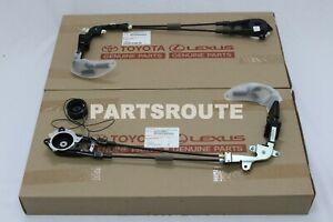 Toyota Sienna 2011-2020 OEM Left & Right Power Sliding Door Cable Motor Bracket