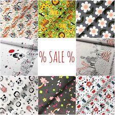 %% SALE %% Jersey, Sweat, Softshell, Baumwolle uvm Kinderstoffe Meterware Stoff