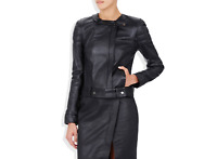 Camilla And Marc Leather Black Ginger Motele Leather Jacket AUS 10 RRP $1017