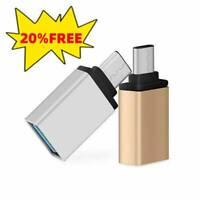 USB-C 3.1 Type C zu USB 3.0 Female Adapter OTG Data Sync New Konverter Hitze DE