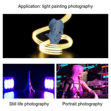 Plastic RGB LED Fill Light Multifunction Photography Video Colorful Lighting