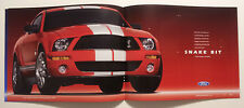 2007 Ford Shelby GT500 + Concept Car Dealership Showroom Brochure - Must See !!