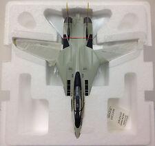 Franklin Mint F-14 Tomcat VF-84 Jolly Rogers Squadron 1:100 Scale w/COA & box