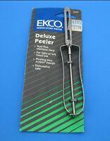 FLAWED Vintage Ekco USA Potato Vegetable Peeler Stainless Steel New Old Stock