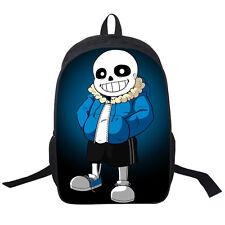 Game Undertale Sans Papyrus Backpack Packsack knapsack Schoolbag Travelbag Bag