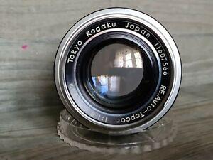 Topcor Re Auto 58mm f1.8 Exakta mount lens