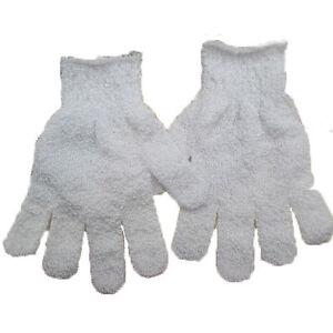 Dusche Peeling Wash Haut Spa Schaumbad Handschuhe Massage Luffa Scrubber CBW SC