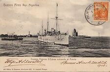 B81879 crucero frances d estre war ship buenos aires argentina front/back image