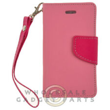 Apple iPhone 4/i4S Wallet Pouch - Pink/Hot Pink Cover Shell Protector Guard