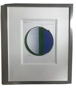 The Original Print Bty Roy Lichenstein. Titled Mirror 1972
