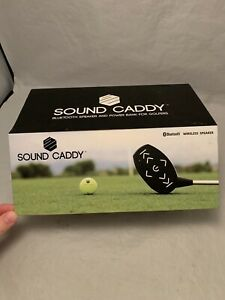 Sound Caddy- Golf Club Bluetooth Speaker and Power Bank FREE SHIPPING!!