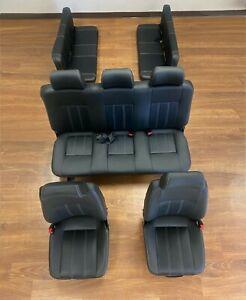 LAND ROVER DEFENDER 110 CLASSIC SEAT SET BLACK