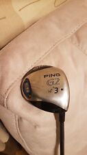 PING G2 3 WOOD 14 DEGREE STIFF FLEX with original head cover