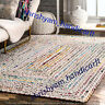 "2X6"" Feet Indian Handmade Yoga Runner Mat Ethnic Multi Colour Cotton Rug Runner"