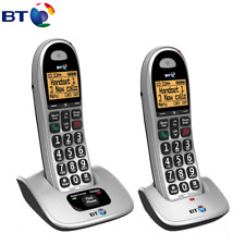 BT Big Button 4000 Digital Cordless Telephone - Twin Fast & free Shipping
