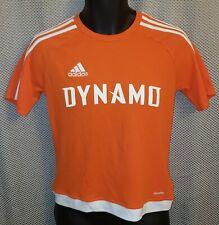Houston Dynamo Orange Adidas Polyester MLS T-Shirt  - Youth Size 13-14 yrs.
