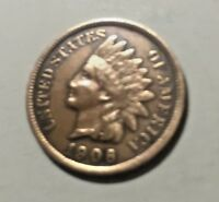 1906 INDIAN HEAD CENT-With FULL LIBERTY