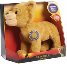 "Disney Lion King Live Action Animated Roaring Simba Soft Plush  12"" Toy Collecti"