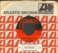 Drifters - Sweets For My Sweet Vinyl 45 rpm Record Free Shipping