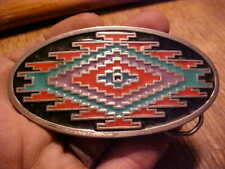 ,Oval,Fancy Colors,1993 Gap Vintage Belt Buckle