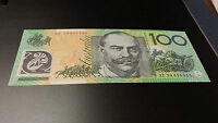Australia **2008 $100 Banknote** ~ **EF 08800880** ~ **Lucky Numbers** ~ **UNC**