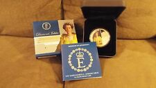 Australia 2012 $1 Diamond Jubilee Queen Elizabeth II 1oz Proof Silver Coin