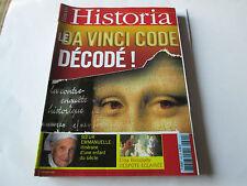 """historia 699 """"  da vinci code decodé"""