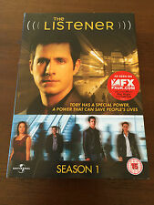 THE LISTENER - TEMPORADA 1 COMPLETA - SEASON 1 - 4 DVD - VOZ ORIGINAL PAL 2 & 4