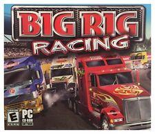 Big Rig Racing Pc Brand New Sealed Free US Shipping 18 Wheelers Vista XP