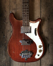 1965 VINTAGE EPIPHONE NEWPORT BASS CHERRY FINISH WITH HARDSHELL CASE