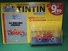 Collection HACHETTE Version Test 2018 : Voiture TINTIN 1/24 N°1 Le bolide rouge
