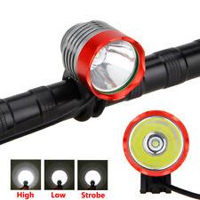 Super hell 5000 Lumens T6 LED Ampoule Fahrrad Licht KopfLampe Stirnband Lampen
