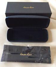 NEW Steven Alan Eyeglass Case  Black Hard Case w/ Box & Cleaning Cloth