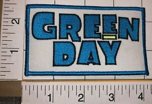 1 GREEN DAY AMERICAN ROCK BAND MUSIC CONCERT BLUE CREST MUSIC PATCH
