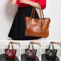 Women Leather Shoulder Crossbody Bag Large Capacity Totes Travel Handbag Purse