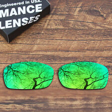 T.A.N Polarized Replacement Lenses for-Oakley Fives Squared (4+1)² Green