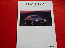 OPEL Omega A 3000 Prospekt von 1991