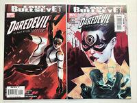 Daredevil 111 & 112, Marvel 2008, Lady Bullseye Set