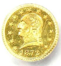 1872 Washington California Gold Quarter 25C BG-818 - PCGS Uncirculated (UNC MS)