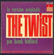 HANK BALLARD & THE MIDNIGHTERS THE TWIST 45T EP BIEM ODEON SOE 3651